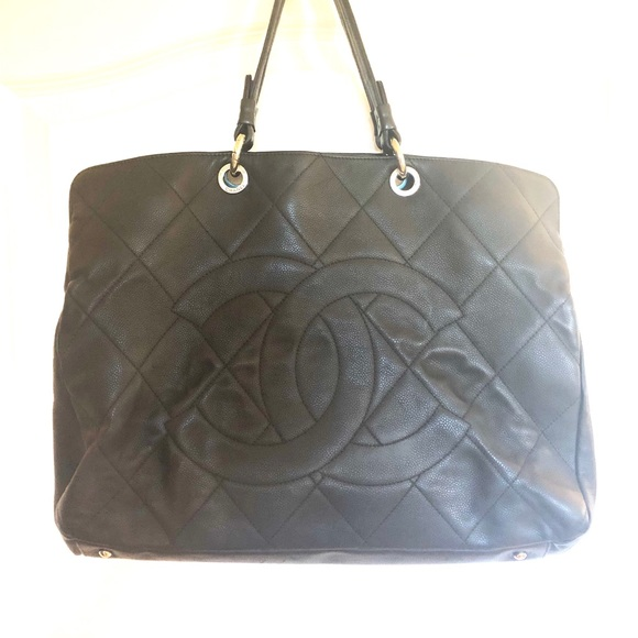 23dfd27701f8 CHANEL Bags | Xl Jumbo Shopper Black Caviar Leather | Poshmark
